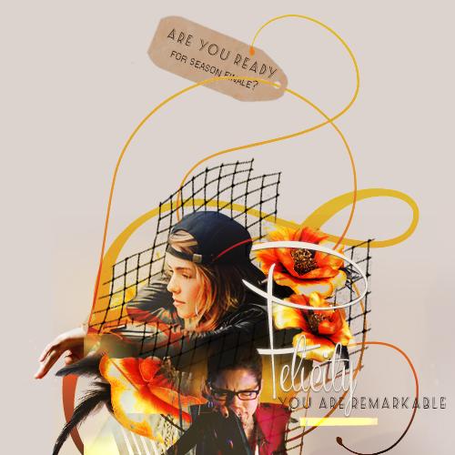 Felicity, you αre remαrkαble.