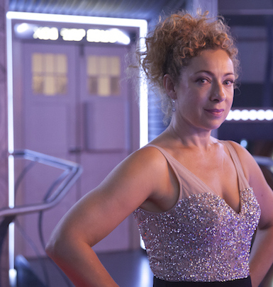 Doctor Who Xmas 2015 River Song