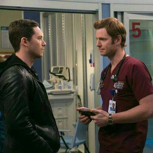 Jay halstead & will halstead chicago pd & chicago med