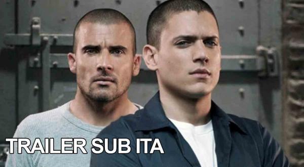 Trailer ufficiale del revival di Prison Break!