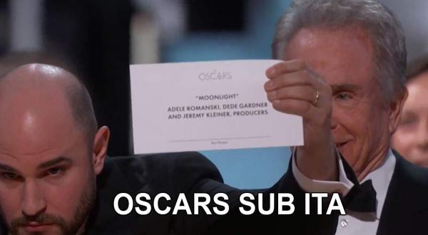 """L'epic fail degli Oscar 2017: la busta dice """"La La Land"""", ma il vincitore è """"Moonlight""""!"""
