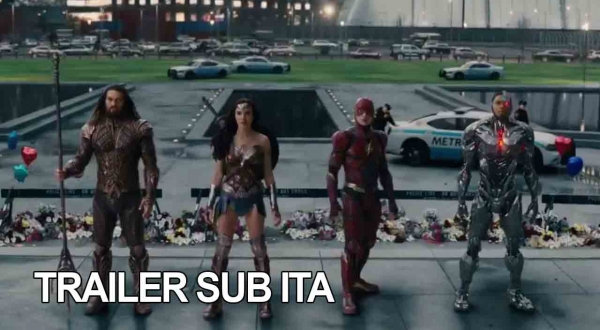 Trailer di Justice League (Comic-Con)