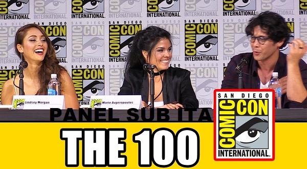Il panel della quinta stagione di The 100 al San Diego Comic-Con 2017